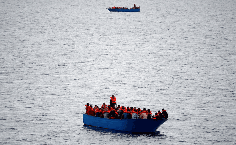 Según informa la Oficina Internacional para la Migración, de los 130 tripulantes, sólo 4 fueron encontrados con vida. (Reuters, archivo)