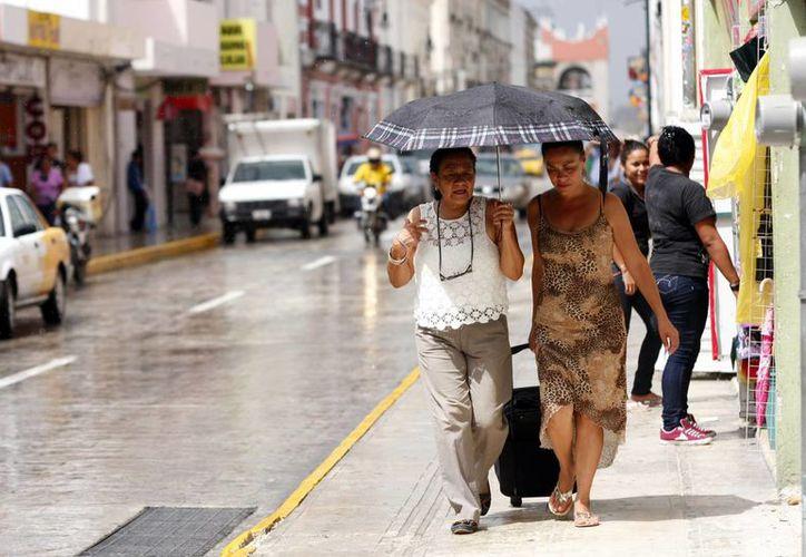 Para la semana que empieza  se pronostica potencial de lluvias puntuales fuertes en Yucatán y Quintana Roo. (SIPSE)