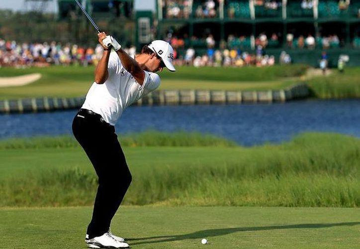 El torneo se realizará en el campo de golf El Camaleón. (Raúl Caballero/SIPSE)