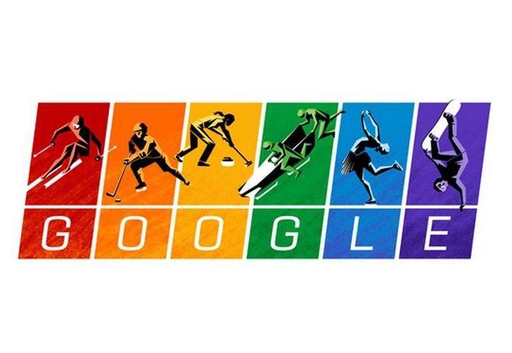 Google celebra el inicio de los Juegos Olímpicos de Invierno en Sochi 2014. (Google.com)
