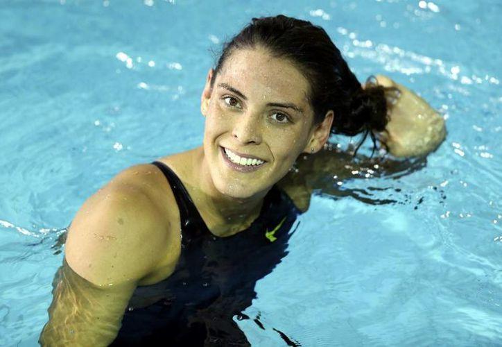 La nadadora mexicana Fernanda González tendrá mucha actividad este 2015. (Notimex)