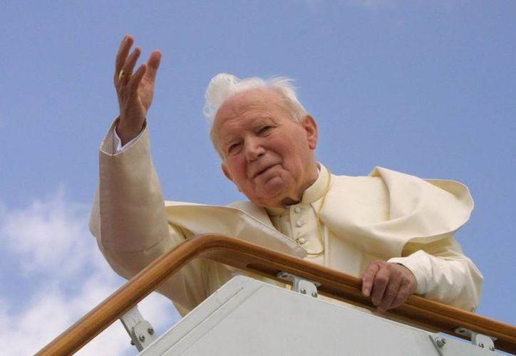 El Papa Juan Pablo II está muy cerca de convertirse en Santo. (EFE)