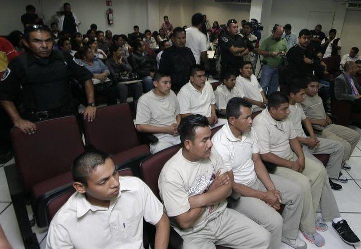 Los policías de Morelos declaran en el juicio publico que se les realiza  por  la muerte de 3 agentes ministeriales. (EFE)