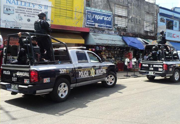 El operativo especial por el Buen Fin arrojó buenos resultados para la Policía Municipal. (Cortesía)