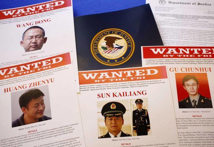 Los acusados fueron identificados como Wang Dong, Sun Kailiang, Wen Xinyu, Huang Zhenyu y Gu Chunhui. (Agencias)