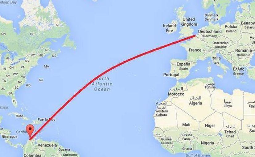 La cocaína pura decomisada en el puerto de Colombia iba a ser trasladada a Bélgica. (Google Maps)