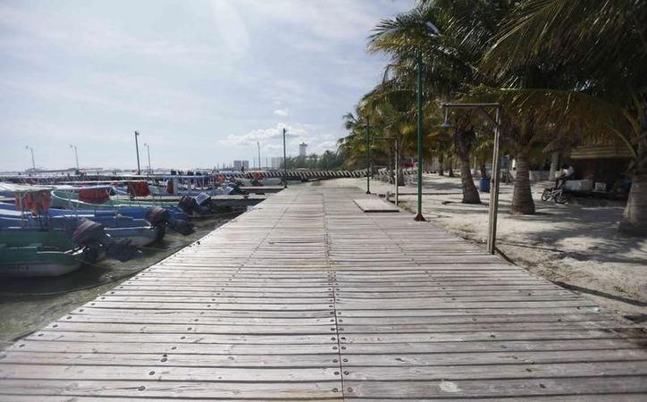 La Apiqroo no contó con la autorización o exención en materia de Impacto Ambiental correspondiente en obra de Puerto Juárez. (Foto: Contexto/Sipse)