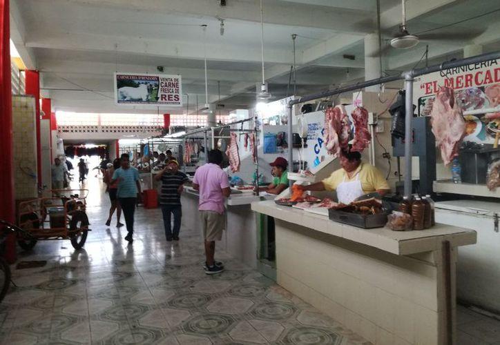 Los comerciantes exponen que en buena temporada llegan a vender hasta mil pesos por día. (José Chi/SIPSE)