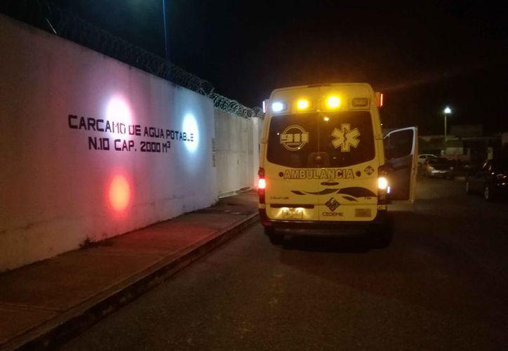 El vigilante del cárcamo Palmas II fue lesionado y amarrado por cuarteo sujetos la madrugada del viernes. (Redacción/SIPSE)
