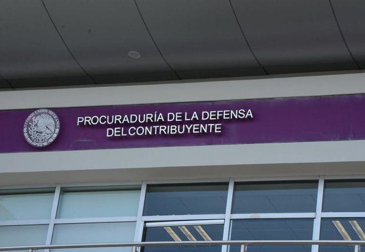 La Prodecon ofrece asesorías gratuitas a los contribuyentes. (Victoria González/SIPSE)