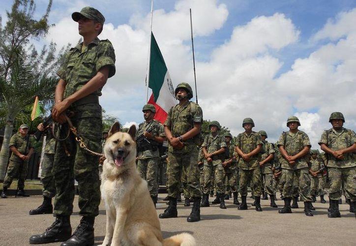 La XXXIV Zona Militar cuenta con personal capacitado para desempeñar las funciones de un docente. (Archivo/SIPSE)