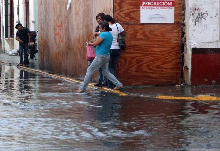 El ingreso de humedad favorecerán chubascos y tormentas puntuales fuertes en las porciones noroeste, centro y noreste de Yucatán. (SIPSE)