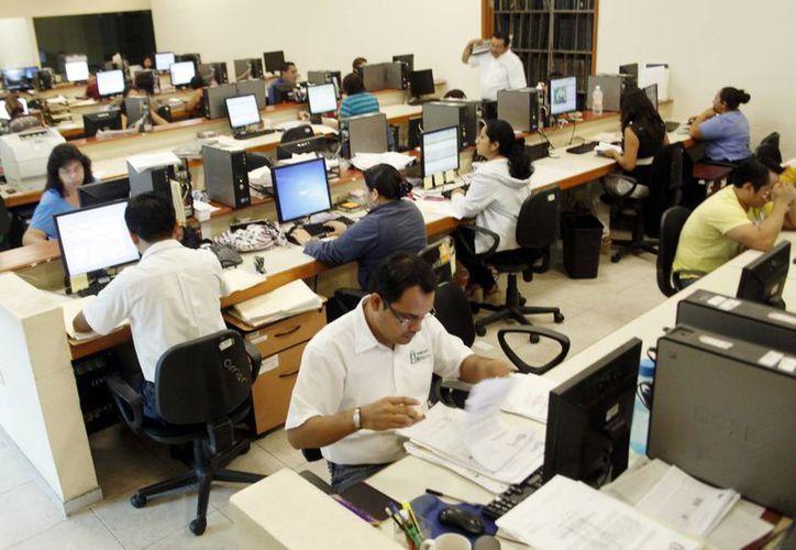 Oficinas del Registro Público de la Propiedad y del Comercio. (Milenio Novedades)