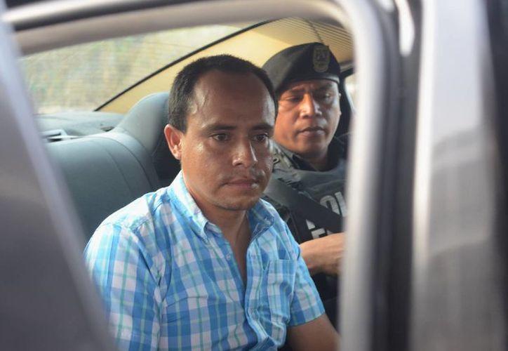El presunto ladrón de coches, Rodrigo Eduardo Montero Casares. (SIPSE)