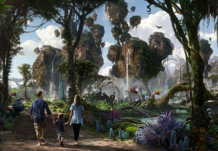 Los visitantes ahora podrán vivir aventuras en el 'oasis de la vida'. (Disney).