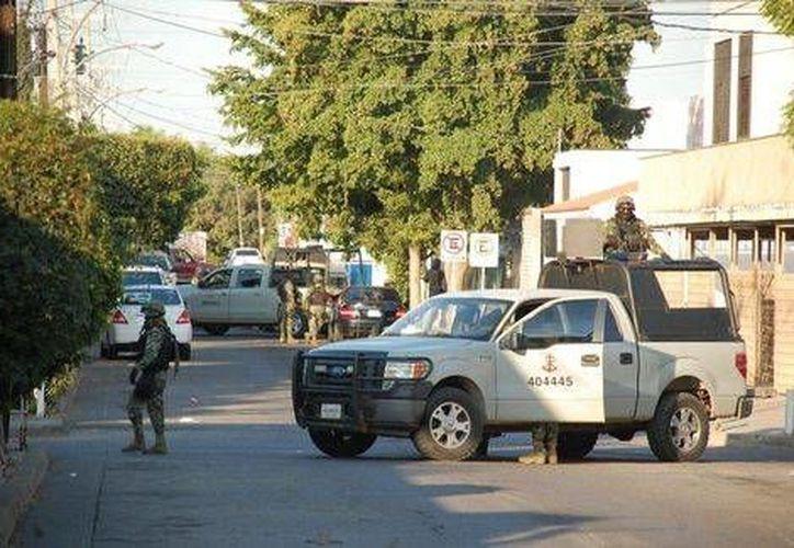 Como parte de los operativos de la Marina en Sinaloa, en las últimas horas fueron aseguradas 20 armas largas. (Milenio)