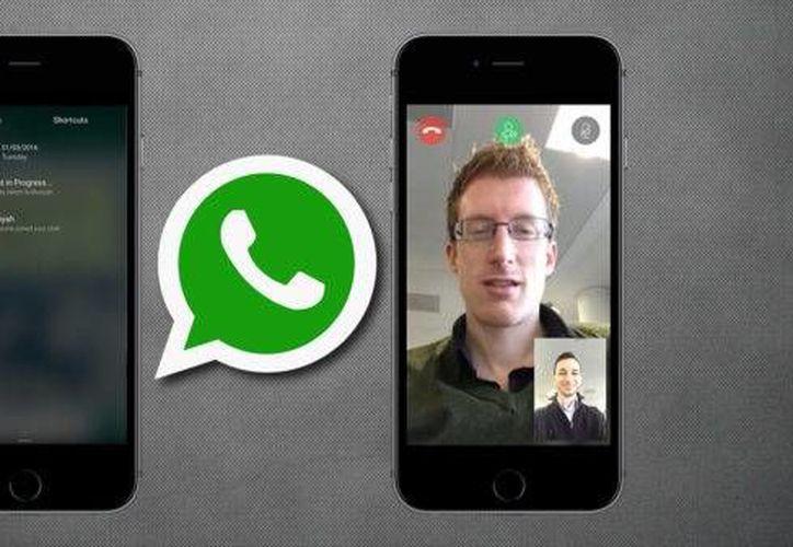 WhatsApp está probando su nueva versión, que permite hacer videollamadas. (www.ipadizate.es)