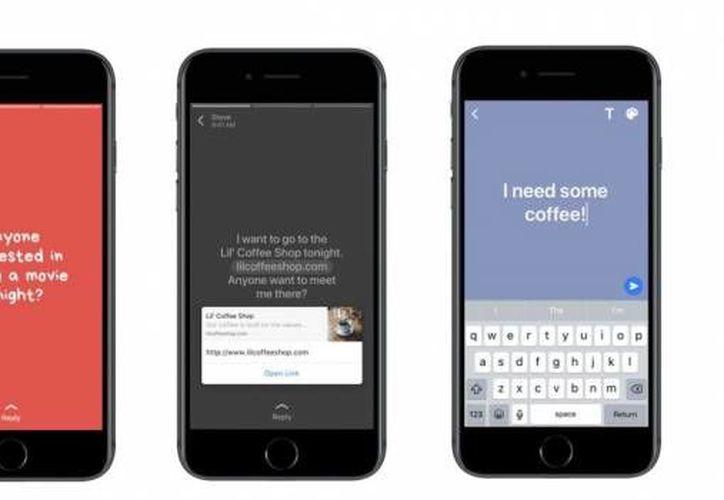 La herramienta permitía únicamente agregar foto y video a los estados de WhatsApp. (VentureBeat).