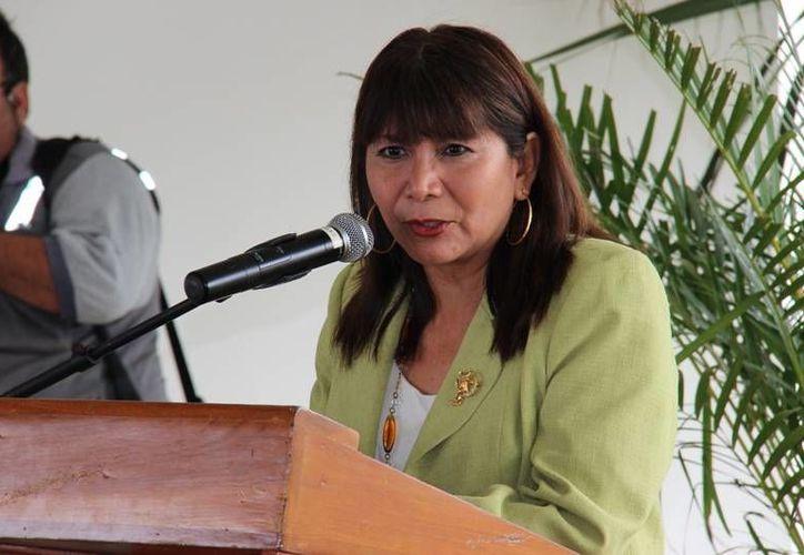 María Elena Andrade Uitzil, coordinadora del Programa de Escuelas de Tiempo Completo. (www.educacion.yucatan.gob.mx)