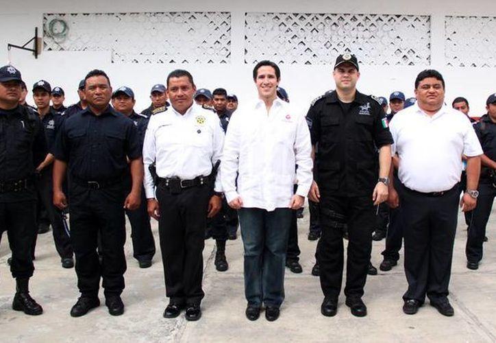 """Inicia el """"Curso del Grupo de Operaciones Especiales Policial"""". (Cortesía/SIPSE)"""