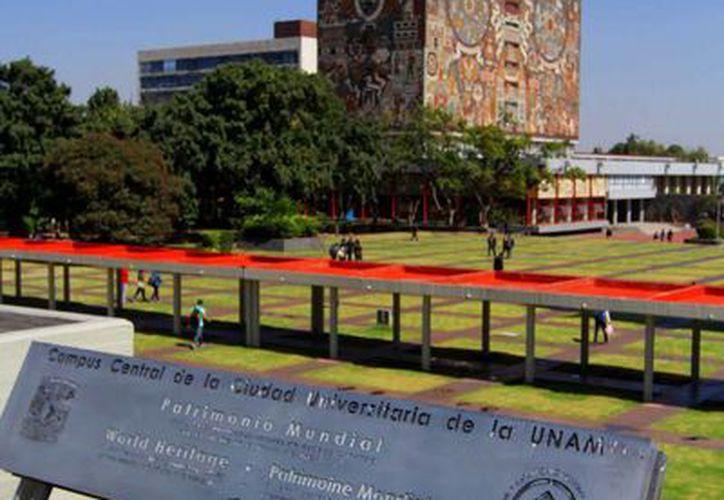 La UNAM Chicago ofrece en apoyo a los migrantes mexicanos, cursos de capacitación laboral. La imagen de Rectoría en la Ciudad de México está utilizada solo con fines ilustrativos. (Archivo/Notimex)