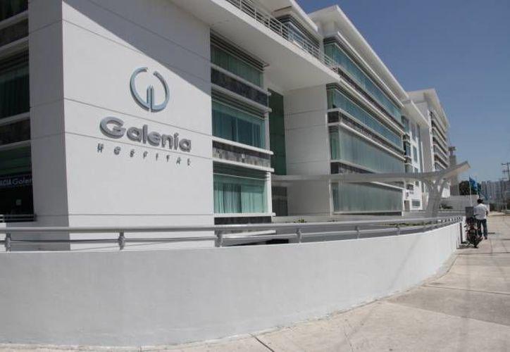 En el hospital Galenia de Cancún es donde se llevarán a cabo las operaciones pde los pacientes estadounidenses con problemas de rodilla y cadera. (Archivo/SIPSE)