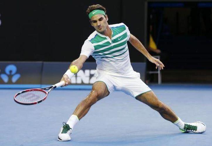 Roger Federer permaneció desde el 2002, en los primeros diez puestos del ranking mundial del ATP. Durante 302 semanas estuvo en el primer lugar.(EFE)