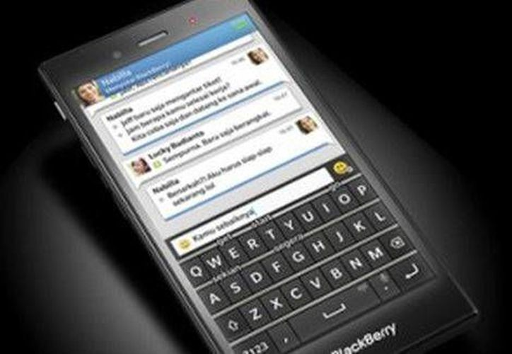 El nuevo celular indonesio de Blackberry se pondrá a la venta en 200 dólares. (Foto de Milenio tomada de Blackberry)