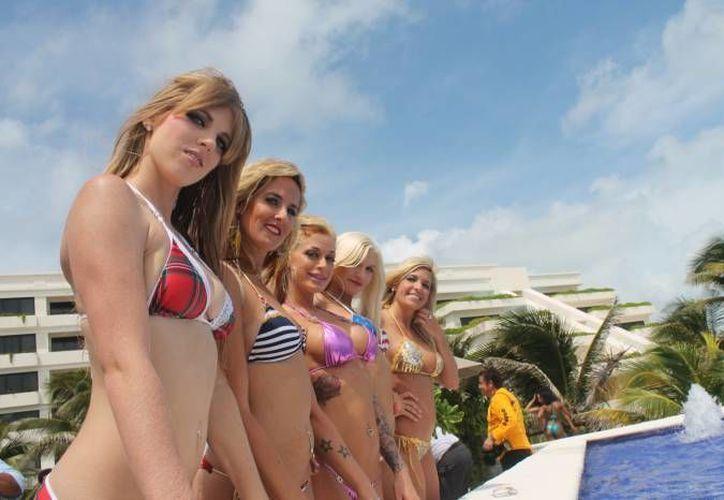 """Bikini se deriva de Atolón Bikini, el sitio de varios ensayos de armas nucleares, por su """"efecto explosivo en el espectador"""". (Redacción/SIPSE)"""