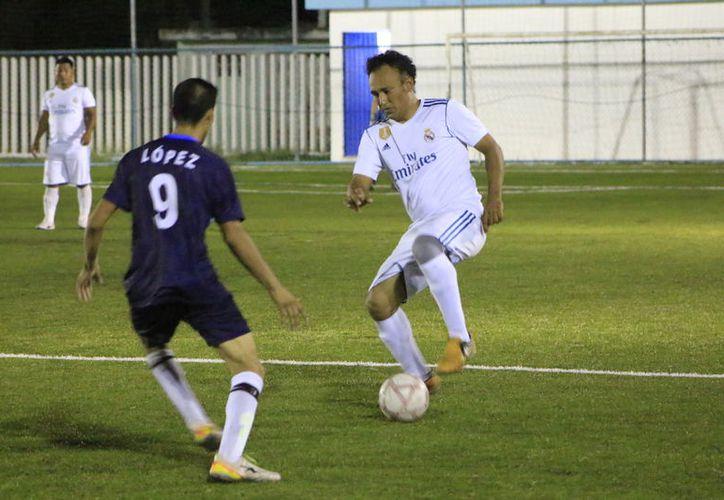 Mendivi Mis y también Jesús García hicieron las anotaciones con las que CAPA venció a la Sedarpe con marcador de 3-0. (Miguel Maldonado/SIPSE)