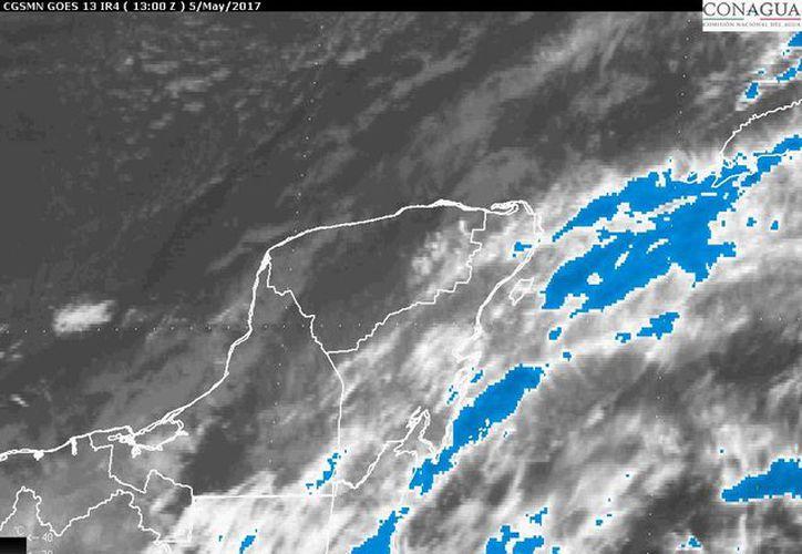 """Según """"The weather channel"""" habrá un 90 por ciento de probabilidad de lluvia. (Foto: Conagua)"""