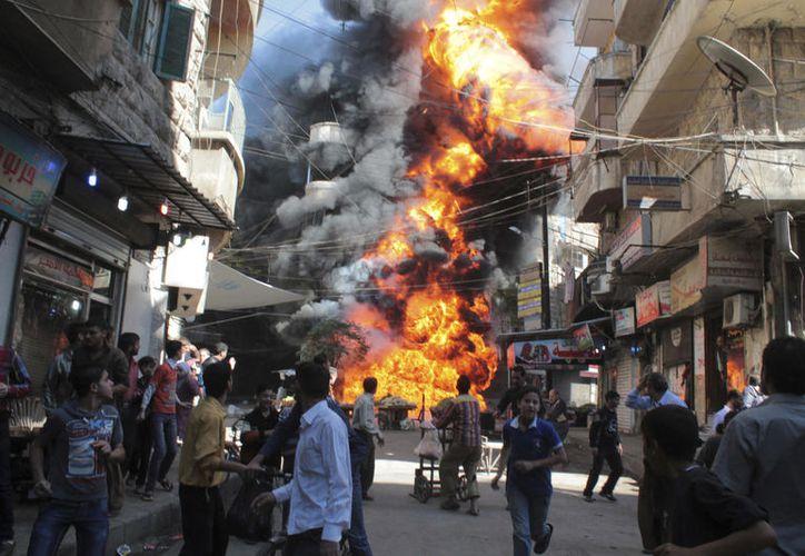 La guerra en Siria entra en su séptimo año. (El Confidencial).