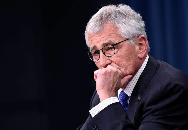 El secretario de la Defensa de Estados Unidos, el exsenador repúblicano, Chuck Hagel, renunció este lunes. Estara en el cargo en tanto el presidente Barack Obama nombra un sustituto. (Archivo/The Associted Press)