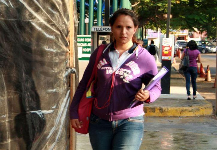 La ropa abrigadora seguirá formando parte del atuendo de los meridanos en estos días. (Lupita Adrián/SIPSE)