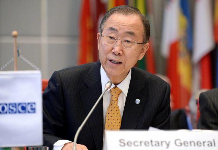 Ban Ki-moon, secretario general de la ONU, carece de autoridad para controlar las agencias y organismos que existen en ella. (EFE/Archivo)