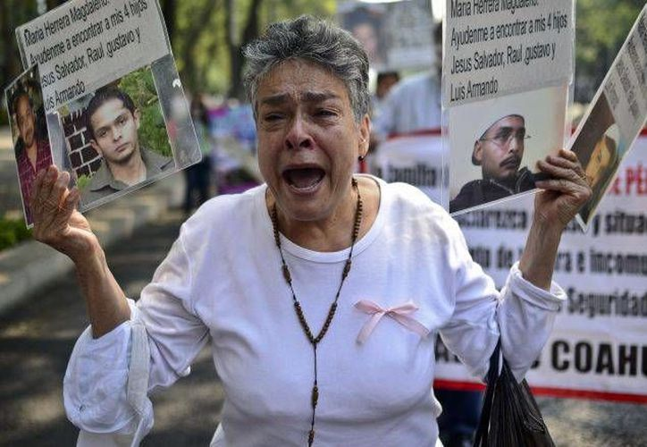 El Grupo de Trabajo de la ONU dijo que hay al menos 20 mil personas desaparecidas en el país.  (Archivo/AFP)