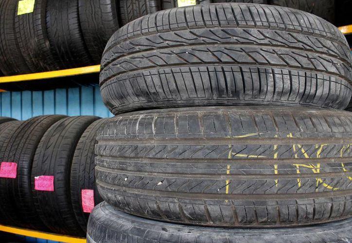 Con la implementación del nuevo programa pretenden evitar la quena de neumáticos. (Franciso Gálvan/SIPSE)
