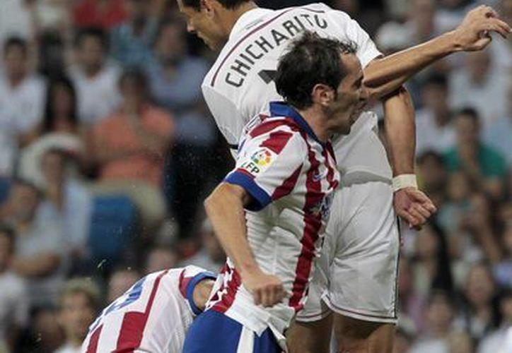 En la Liga de España, 'Chicharito' sólo ha disputado 9 de 24 encuentros. (Foto: Archivo/AP)