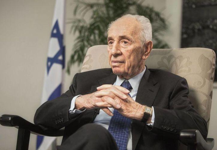 Shimon Peres concluyó su período de siete años como presidente de Israel en el 2014. (Agencias)