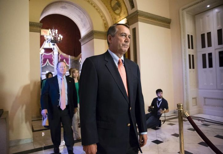 John Boehner, republicano por Ohio y presidente de la Cámara de Representantes. (Agencias)