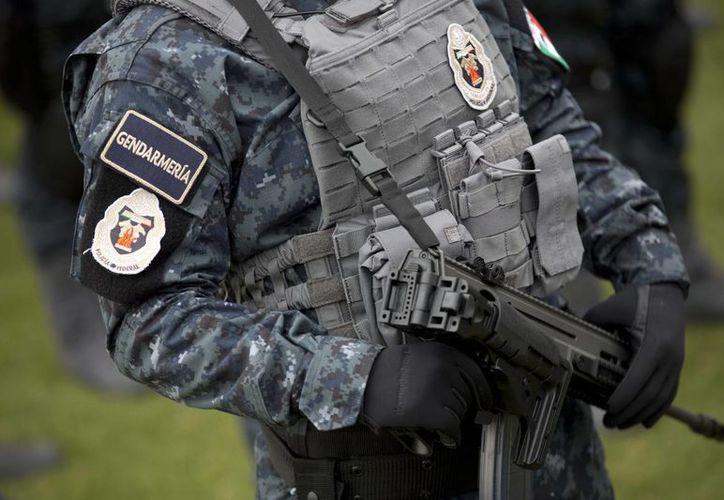 Los recursos de la Policía Federal a la Gendarmería es de 20 mil millones de pesos para los operativos de prevención y disuasión del delitos y para la división entró en funciones el mes pasado se designó cinco mil millones de pesos. (Archivo/SIPSE)