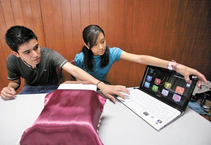 Invento desarrollado por Francisco Javier Hernández Cervantes y María Isabel González Flores. (Milenio Novedades)