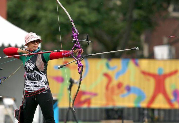 Aída Román, medallista en Londres 2012, va por el oro en Rio 2016. (Notimex)