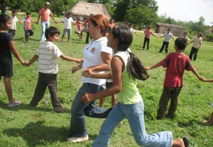 Promueven e inculcan valores entre menores de edad. (Redacción/SIPSE)