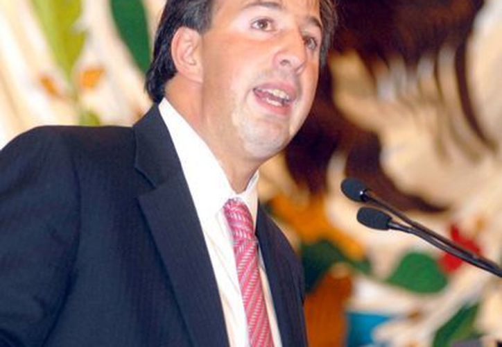Meade fue el único funcionario del gabinete de Calderón que permanece en la estructura burocrática de Peña Nieto. (Notimex)
