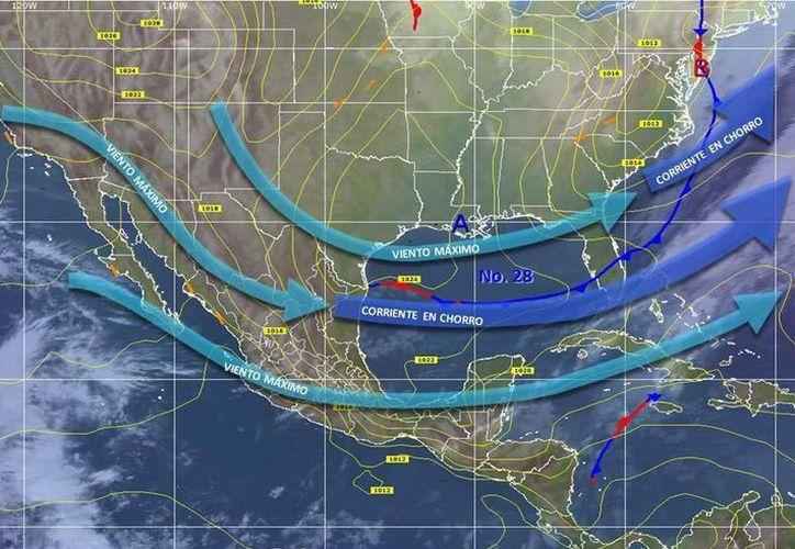 El descenso de la temperatura se sentirá por la tarde e iniciará a partir de las 18 horas. (Archivo/SIPSE)