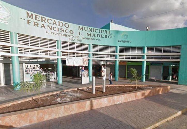 En el mercado municipal de Progreso se reportaron anomalías con respecto al recurso proveniente de los cobros a los puestos de venta. (Google maps)