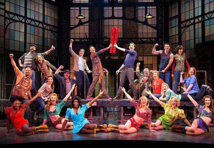 'Kinky Boots es favorito al premio mayor: el mejor musical del año. (Agencias)
