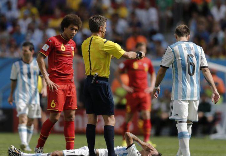 Ángel Di María, el creativo de la Selección de Argentina, quedó definitivamente fuera del Mundial a causa de una lesión. A la albiceleste le quedan dos encuentros por disputar. (AP)