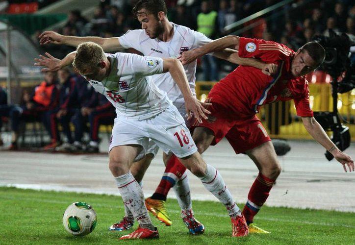 La selección rusa goleó 4-1 a Luxemburgo en las eliminatorias mundialistas. (Agencias)